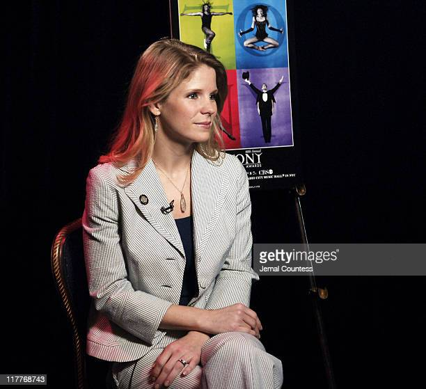Kelli O'Hara during 60th Annual Tony Awards 'Meet The Nominees' Press Reception at The View at The Marriot Marquis in New York City New York United...