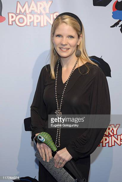 Kelli O'Hara during Mary Poppins Broadway Opening Night at the New Amsterdam Theatre Arrivals November 16 2006 at New Amsterdam Theatre in New York...