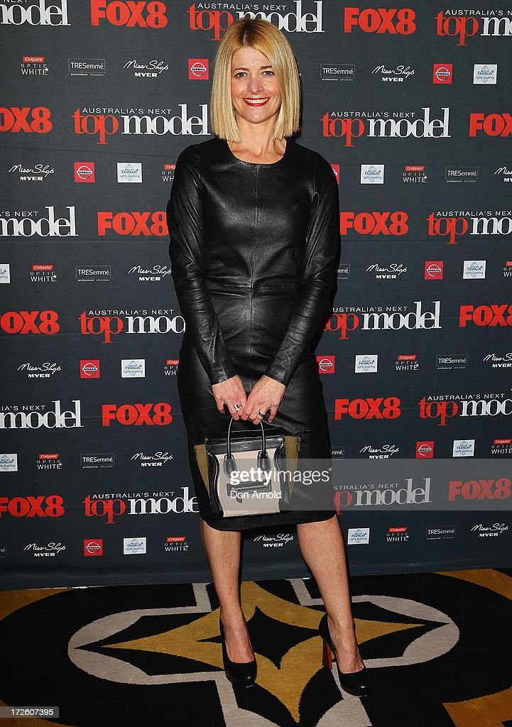 Kellie Hush poses at the launch of Australia's Next Top Model Season 8 at Doltone House on July 4, 2013 in Sydney, Australia.