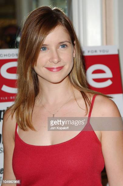 Kellie Martin during Lupus LA InStyle Magazine Present 'The Old Bags Lupus Luncheon' at The Beverly Hills Hotel in Beverly Hills California United...
