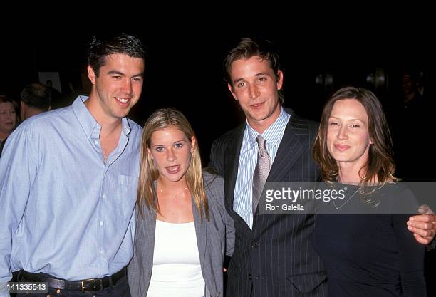 Kellie Martin Keith Christian Noah Wyle and Tracy Warbin at the Screening of TNT's Original Movie 'Pirates of Silicon Valley' DGA Theater Los Angeles