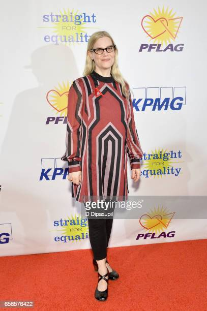 Kellie Overbey attends the ninth annual PFLAG National Straight for Equality Awards Gala on March 27 2017 in New York City