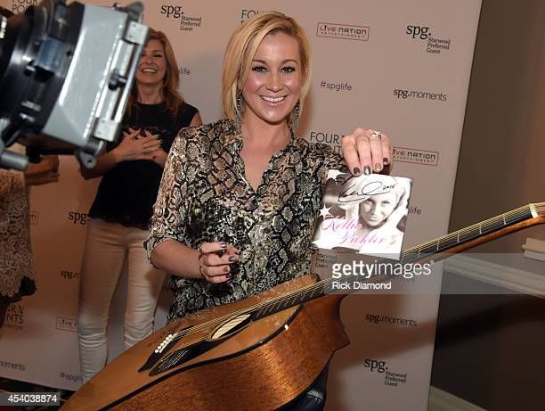 Kellie Pickler attends Starwood Preferred Guest's Hear The Music See The World featuring Kellie Pickler at Four Points By Sheraton NashvilleBrentwood...