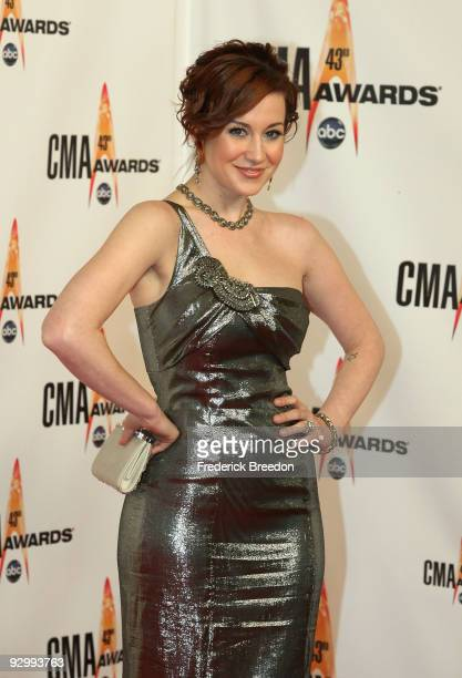 Kellie Pickler attends the 43rd Annual CMA Awards at the Sommet Center on November 11 2009 in Nashville Tennessee
