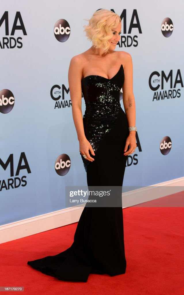 <a gi-track='captionPersonalityLinkClicked' href=/galleries/search?phrase=Kellie+Pickler&family=editorial&specificpeople=600021 ng-click='$event.stopPropagation()'>Kellie Pickler</a> attends the 47th annual CMA Awards at the Bridgestone Arena on November 6, 2013 in Nashville, Tennessee.