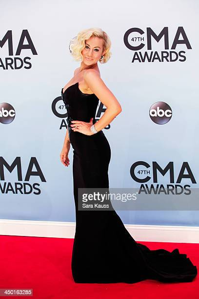 Kellie Pickler attends the 47th annual CMA Awards at the Bridgestone Arena on November 6 2013 in Nashville Tennessee