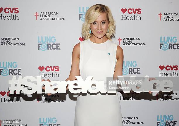 Kellie Pickler attends The American Lung Association's LUNG FORCE Initiative at Tribeca Grand Hotel on May 12 2015 in New York City