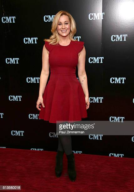 Kellie Pickler attends Viacom Kids And Family Group Upfront Event at Frederick P Rose Hall Jazz at Lincoln Center on March 3 2016 in New York City