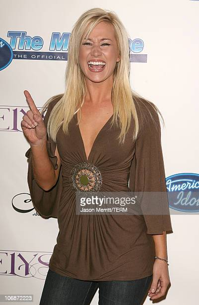 Kellie Pickler during 'American Idol' Season 5 Launch Party at Cinespace in Hollywood California United States