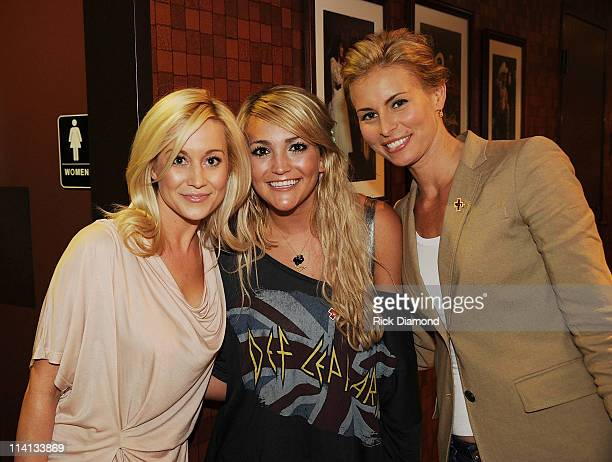 Kellie Pickler Jamie Lynn Spears and Niki Taylor attend Music Builds the CMT Disaster Relief Concert on May 12 2011 in Nashville Tennessee