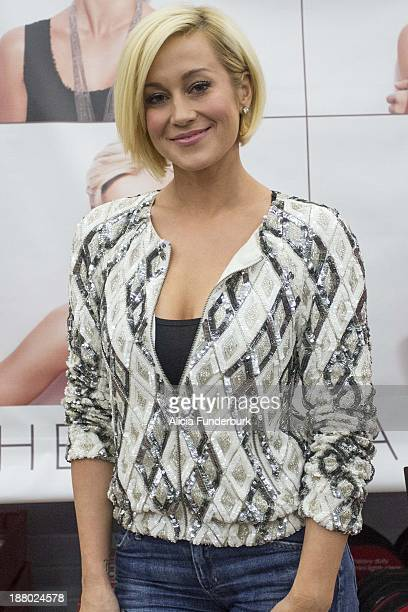 Kellie Pickler promotes the new album 'The Woman I Am' at Walmart on November 14 2013 in Belmont North Carolina