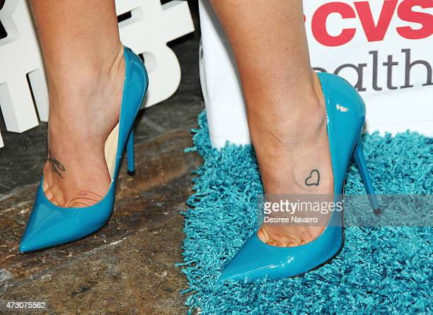Kellie Pickler shoe detail attends The American Lung Association's LUNG FORCE Initiative at Tribeca Grand Hotel on May 12 2015 in New York City