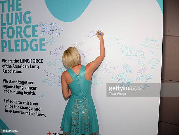 Kellie Pickler steps out in New York City's Meatpacking District for an evening with the American Lung Association as the organization launches its...