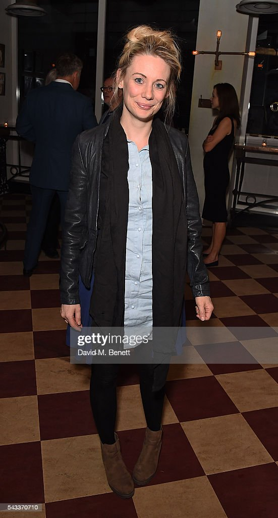 Kellie Shirley attends the after party of 'The Truth' at Polpo At The Ape and Bird on June 27, 2016 in London, England.