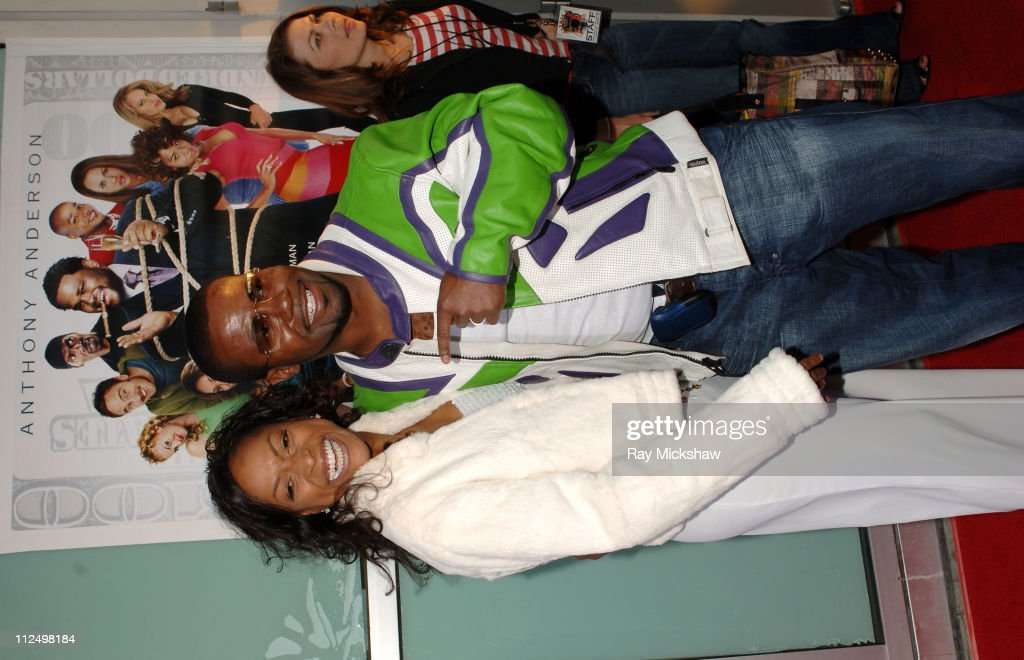 Kellita Smith and Darryl Taja producer during 'King's Ransom' Los Angeles Premiere Red Carpet at ArcLight Cinerama Dome in Los Angeles California...