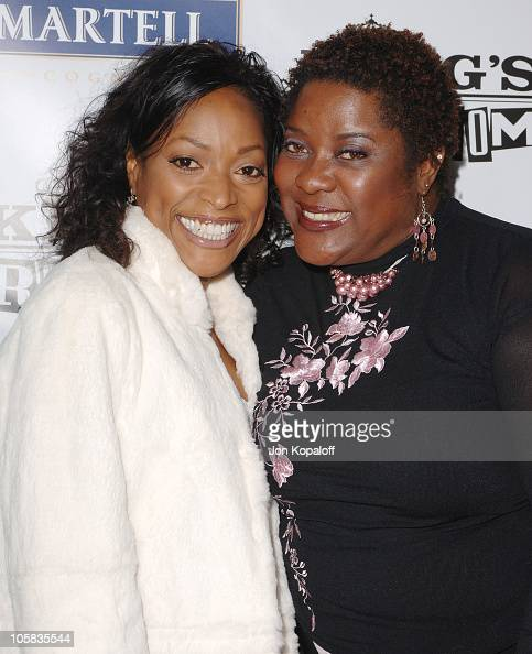 Kellita Smith and Loretta Devine during 'King's Ransom' Los Angeles Premiere Arrivals at ArcLight Cinerama Dome in Hollywood California United States