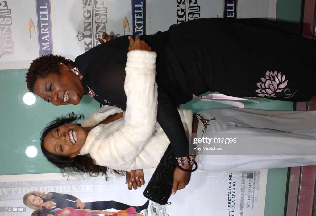 Kellita Smith and Loretta Devine during 'King's Ransom' Los Angeles Premiere Red Carpet at ArcLight Cinerama Dome in Los Angeles California United...
