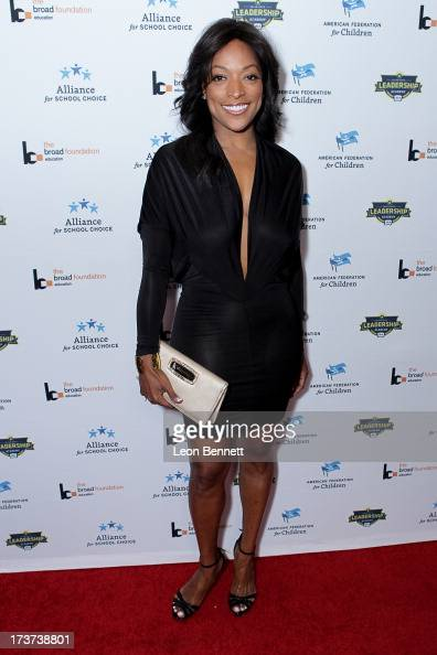 Kellita Smith attended The Champions For Choice In Education ESPYs Kickoff Cocktail Party at Ritz Carlton on July 16 2013 in Los Angeles California