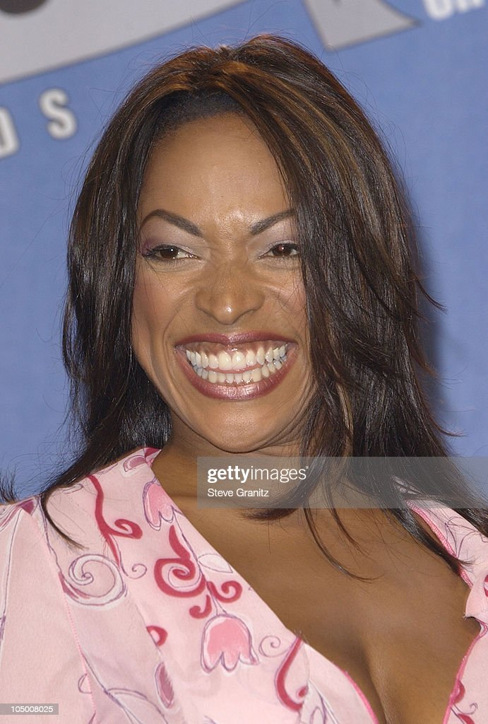 Kellita Smith during The 2002 Teen Choice Awards Press Room at Universal Amphitheater in Universal City California United States