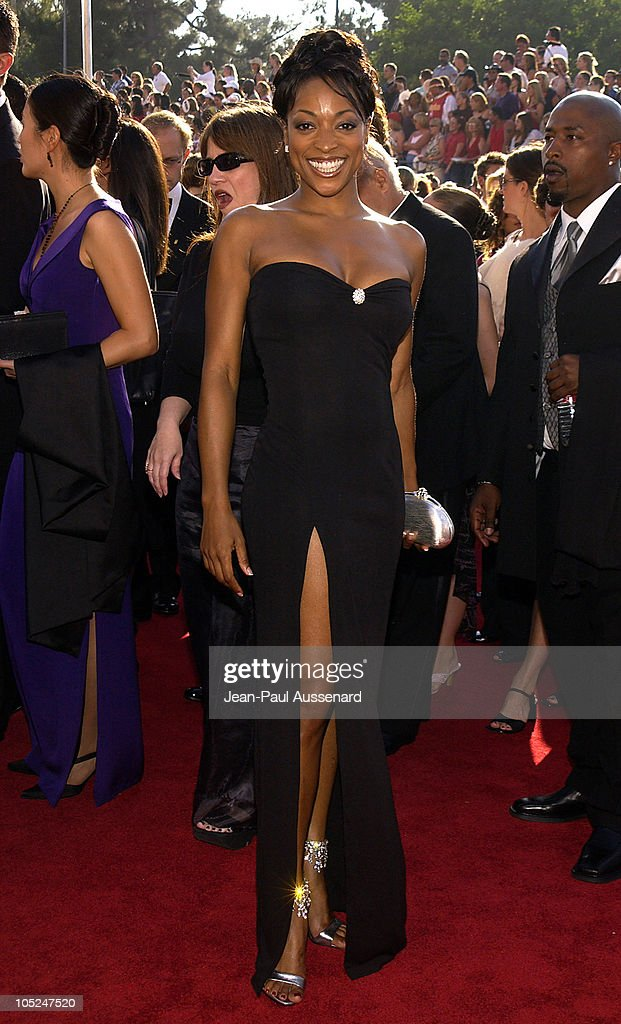 Kellita Smith during The 55th Annual Primetime Emmy Awards Arrivals at The Shrine Theater in Los Angeles California United States