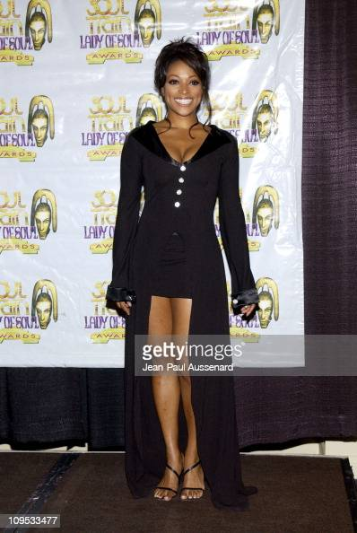 Kellita Smith during The 8th Annual Soul Train 'Lady of Soul' Awards Press Room at Pasadena Civic Auditorium in Pasadena California United States