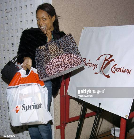 Kellita Smith leaves the Backstage Creations suite