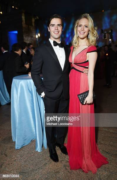 Kelly Anna Polk and Ashton Wackym attend the 2017 Apollo Circle Benefit at The Metropolitan Museum of Art on October 19 2017 in New York City