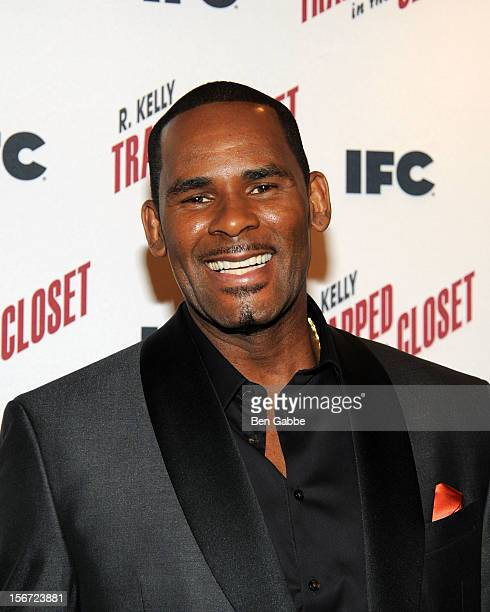 R Kelly attends a 'Trapped In The Closet' screening at Sunshine Cinema on November 19 2012 in New York City
