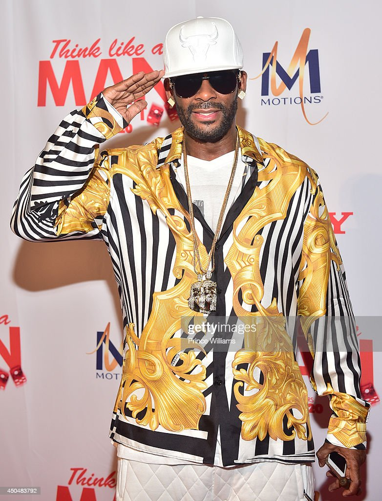 <a gi-track='captionPersonalityLinkClicked' href=/galleries/search?phrase=R.+Kelly&family=editorial&specificpeople=204472 ng-click='$event.stopPropagation()'>R. Kelly</a> attends the 'Think Like A Man Too' premiere at Regal Cinemas Atlantic Station Stadium 16 on June 11, 2014 in Atlanta, Georgia.