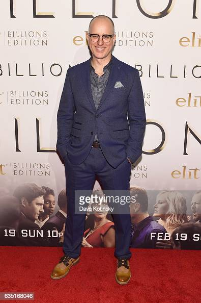 Kelly AuCoin attends the Showtime and Elit Vodka hosted BILLIONS Season 2 premiere and party held at Cipriani's in New York City on February 13 2017...