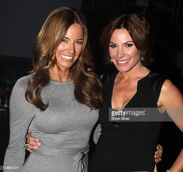 Kelly Bensimon and Countess LuAnn de Lesseps attend Victoria de Lesseps' 16th Birthday Party at Arena on December 11 2010 in New York City