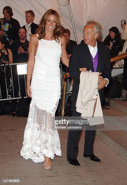 Kelly Bensimon and Gilles Bensimon during 'Chanel' Costume Institute Gala Opening at the Metropolitan Museum of Art Arrivals at Metropolitan Museum...