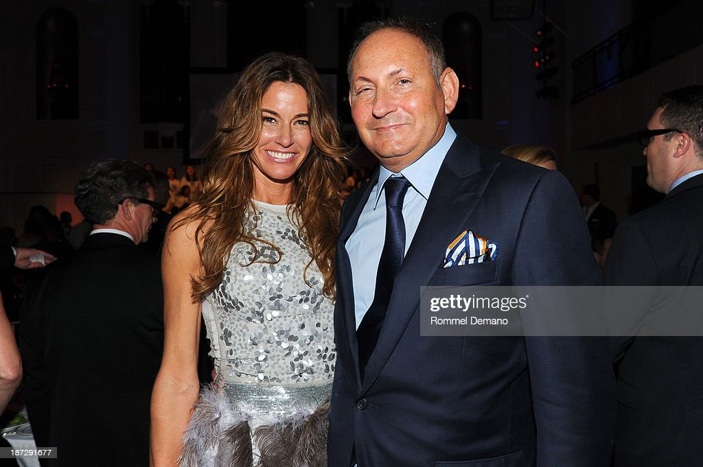 Kelly Bensimon and John Dempsey attend the 16th annual World Of Children awards at 583 Park Avenue on November 7, 2013 in New York City.