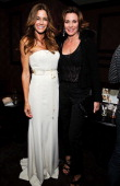 Kelly Bensimon and LuAnn de Lesseps attend Kelly Bensimon's 'In The Spirit Of' fragrance launch event at Cherry on October 17 2013 in New York City