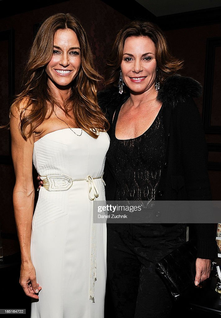 Kelly Bensimon and <a gi-track='captionPersonalityLinkClicked' href=/galleries/search?phrase=LuAnn+de+Lesseps&family=editorial&specificpeople=4949848 ng-click='$event.stopPropagation()'>LuAnn de Lesseps</a> attend Kelly Bensimon's 'In The Spirit Of' fragrance launch event at Cherry on October 17, 2013 in New York City.