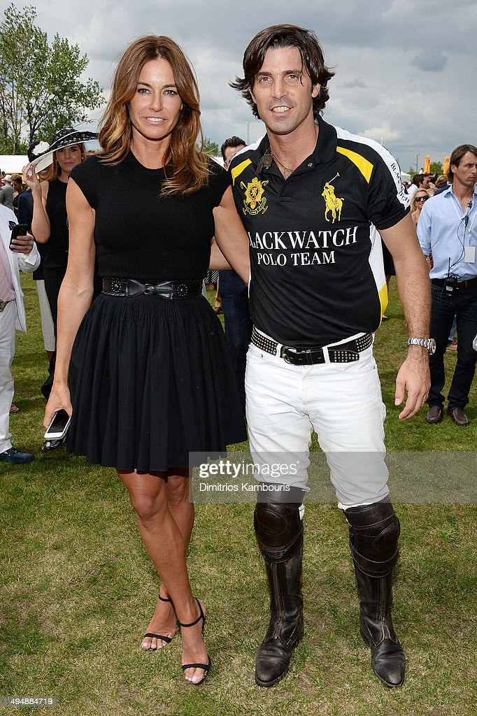 Kelly Bensimon and <a gi-track='captionPersonalityLinkClicked' href=/galleries/search?phrase=Nacho+Figueras&family=editorial&specificpeople=2308997 ng-click='$event.stopPropagation()'>Nacho Figueras</a> attend the seventh annual Veuve Clicquot Polo Classic in Liberty State Park on May 31, 2014 in Jersey City City.