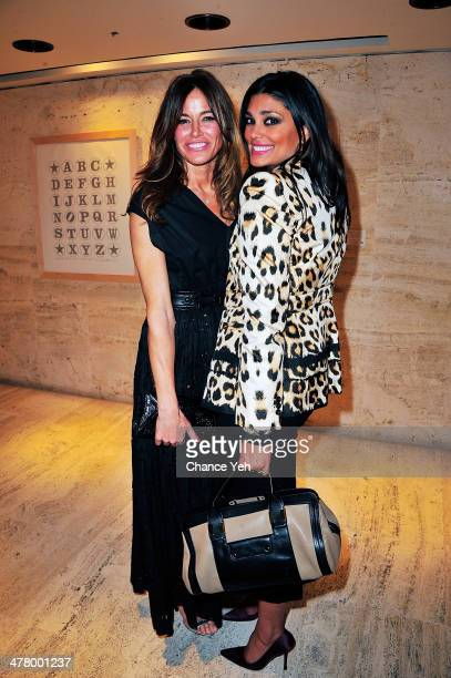 Kelly Bensimon and Rachel Roy attend the Love Heals 2014 Gala at Four Seasons Restaurant on March 11 2014 in New York City