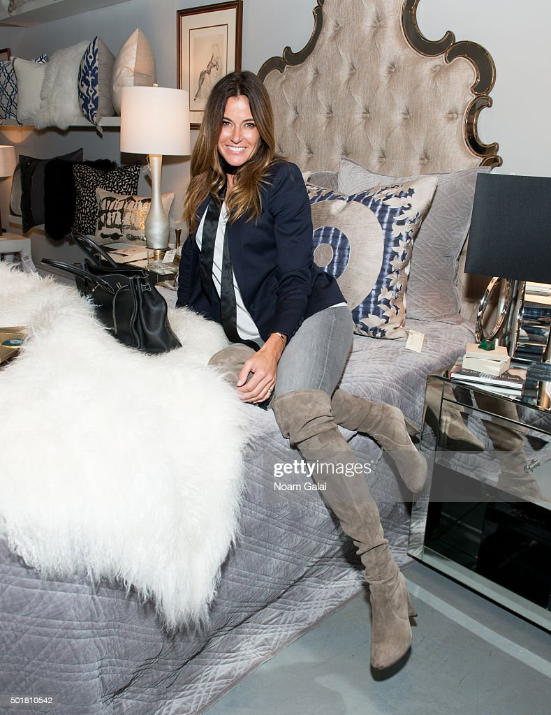 Kelly Bensimon attends 2015 Zarin Fabrics' holiday party at Zarin Fabrics on December 17, 2015 in New York City.
