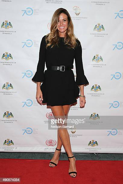 Kelly Bensimon attends a reception gala for the 70th Anniversary of the United Nations and the Post2015 Development Agenda at United Nations on...