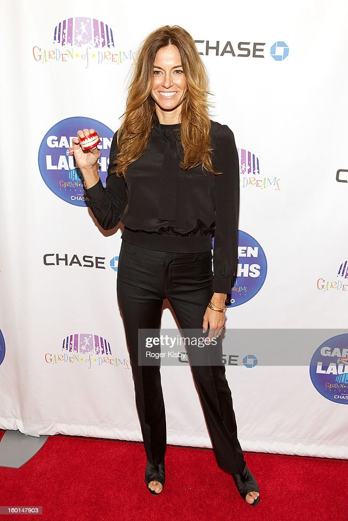 Kelly Bensimon attends 'Garden Of Laughs' benefit at Madison Square Garden on January 26, 2013 in New York City.