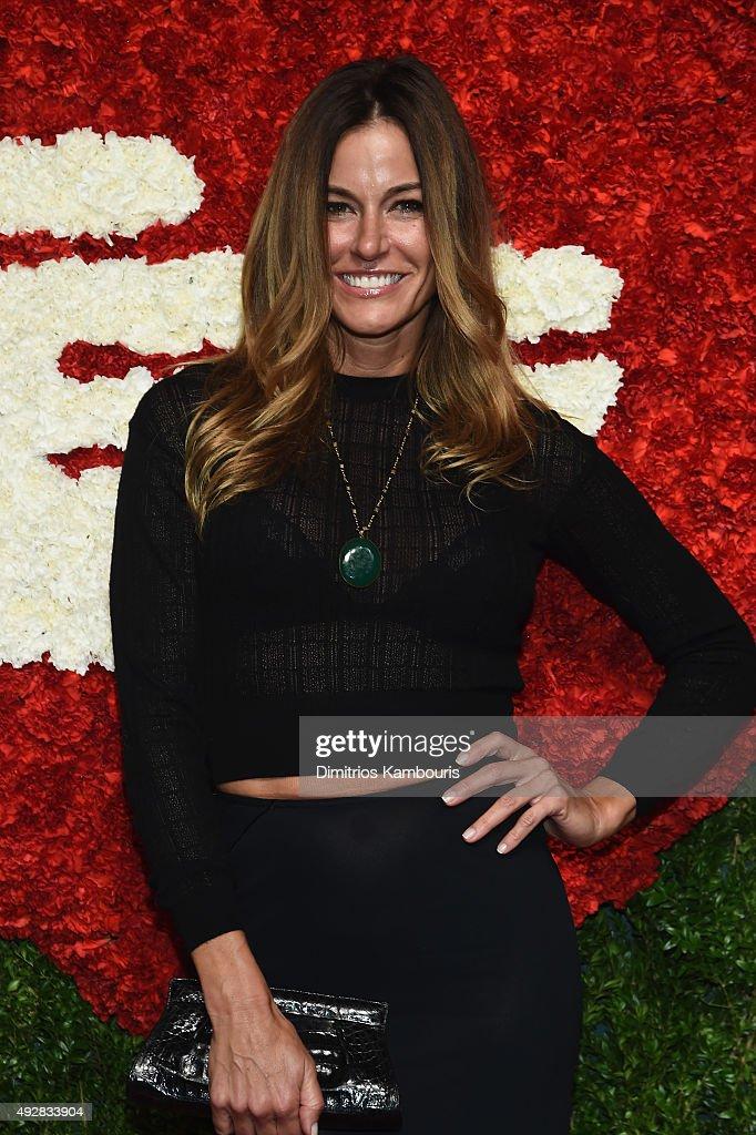 Kelly Bensimon attends God's Love We Deliver Golden Heart Awards at Spring Studio on October 15 2015 in New York City