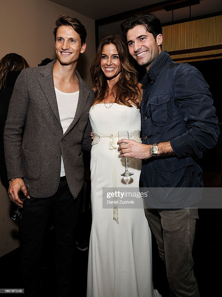 Kelly Bensimon(C) attends her 'In The Spirit Of' fragrance launch event at Cherry on October 17, 2013 in New York City.