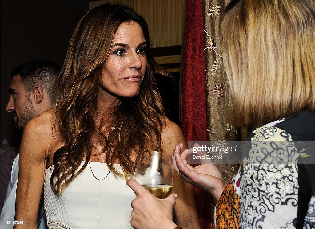 Kelly Bensimon(L) attends her 'In The Spirit Of' fragrance launch event at Cherry on October 17, 2013 in New York City.