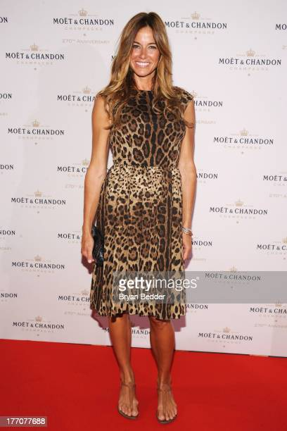 Kelly Bensimon attends Moet Chandon Celebrates Its 270th Anniversary With New Global Brand Ambassador International Tennis Champion Roger Federer at...