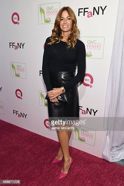 Kelly Bensimon attends QVC presents 'FFANY Shoes on Sale' at Waldorf Astoria Hotel on October 8 2014 in New York City