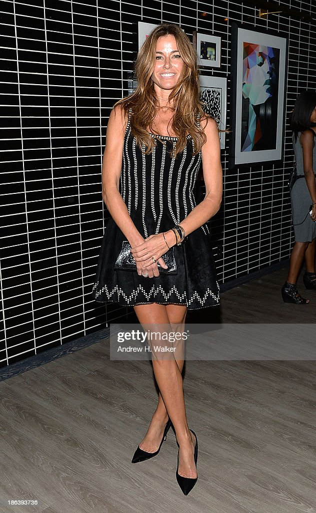 Kelly Bensimon attends the after party of Entertainment One's 'Diana' hosted by The Cinema Society with Linda Wells and Allure Magazine at The Skylark on October 30, 2013 in New York City.