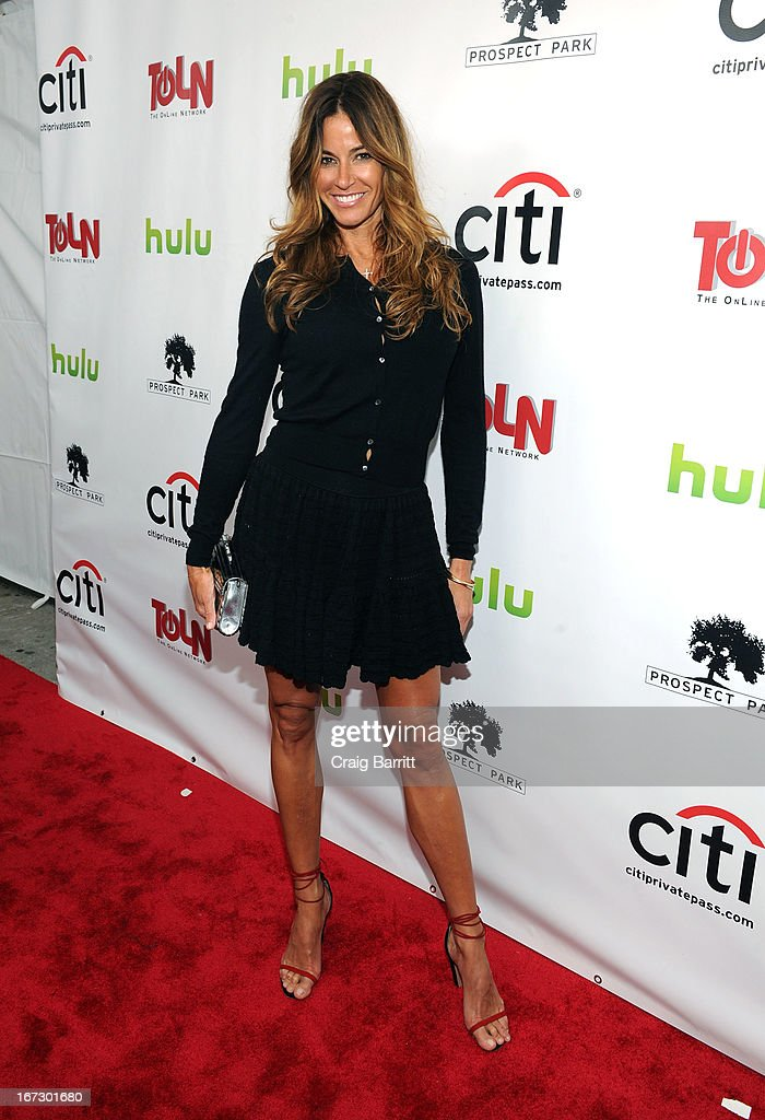 Kelly Bensimon attends the 'All My Children' 'One Life To Live' premiere at Jack H Skirball Center for the Performing Arts on April 23 2013 in New...
