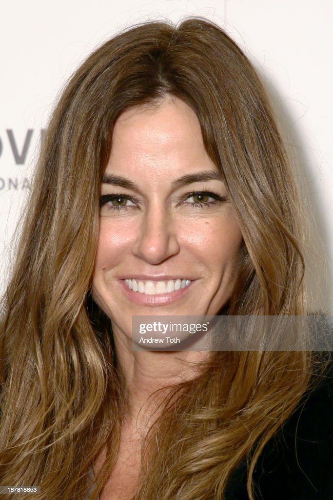 Kelly Bensimon attends the Atelier Pronovias 2014 Show hosted by Petra Nemcova at St. James Church on November 12, 2013 in New York City.