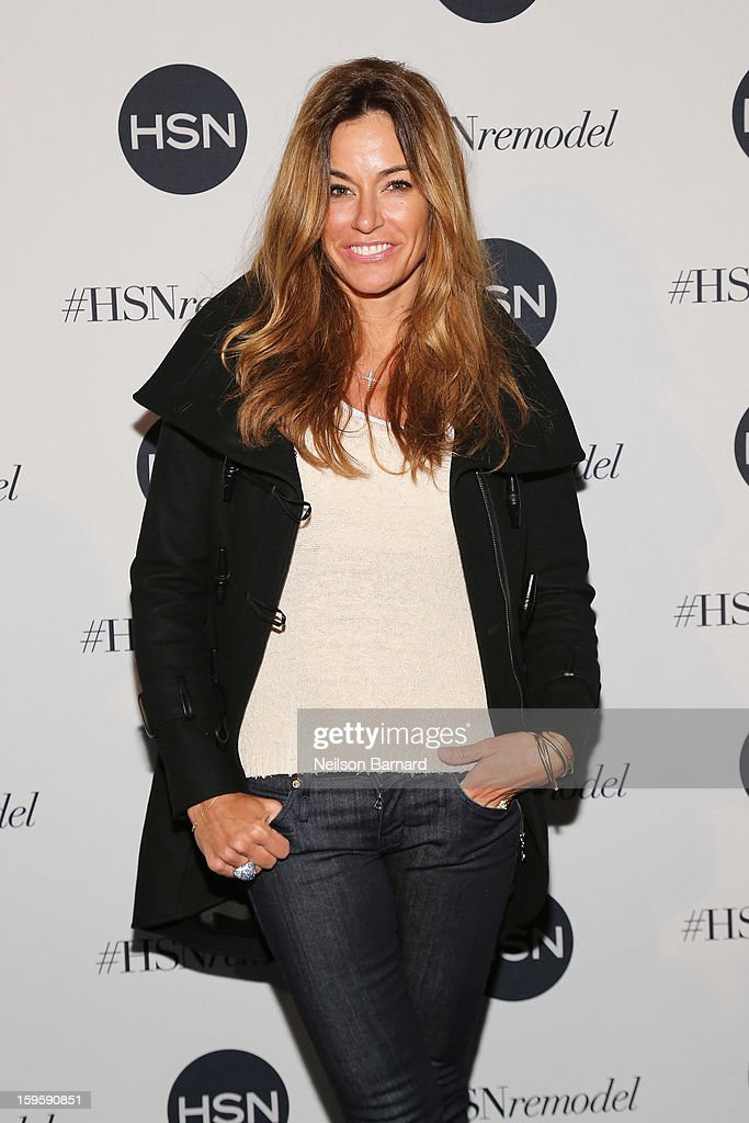 Kelly Bensimon attends the celebration of HSN Digital Redesign at Marquee New York on January 16, 2013 in New York City.