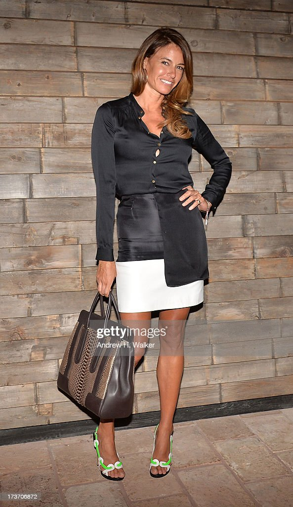 Kelly Bensimon attends The Cinema Society and Bally screening of Summit Entertainment's 'Red 2' after party at Refinery Hotel on July 16, 2013 in New York City.